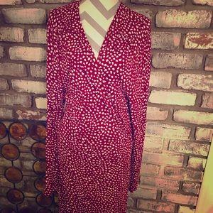 Flattering heart dress!